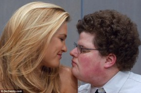 Bar Refaeli Kisses the Luckiest Nerd on Earth